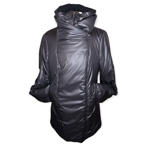 Mackage Liz Puffer Jacket with Wool Trim Collar - Size Medium